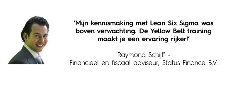 Recensie Lean training Raymond